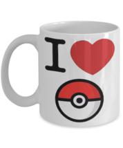 Pokemon Go - I Love Pokemon Mug For All Pokemon Go Fans - $14.95