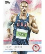 2012 Topps USA Olympic Team #44 Trey Hardee -USA Decathlon- - $1.55