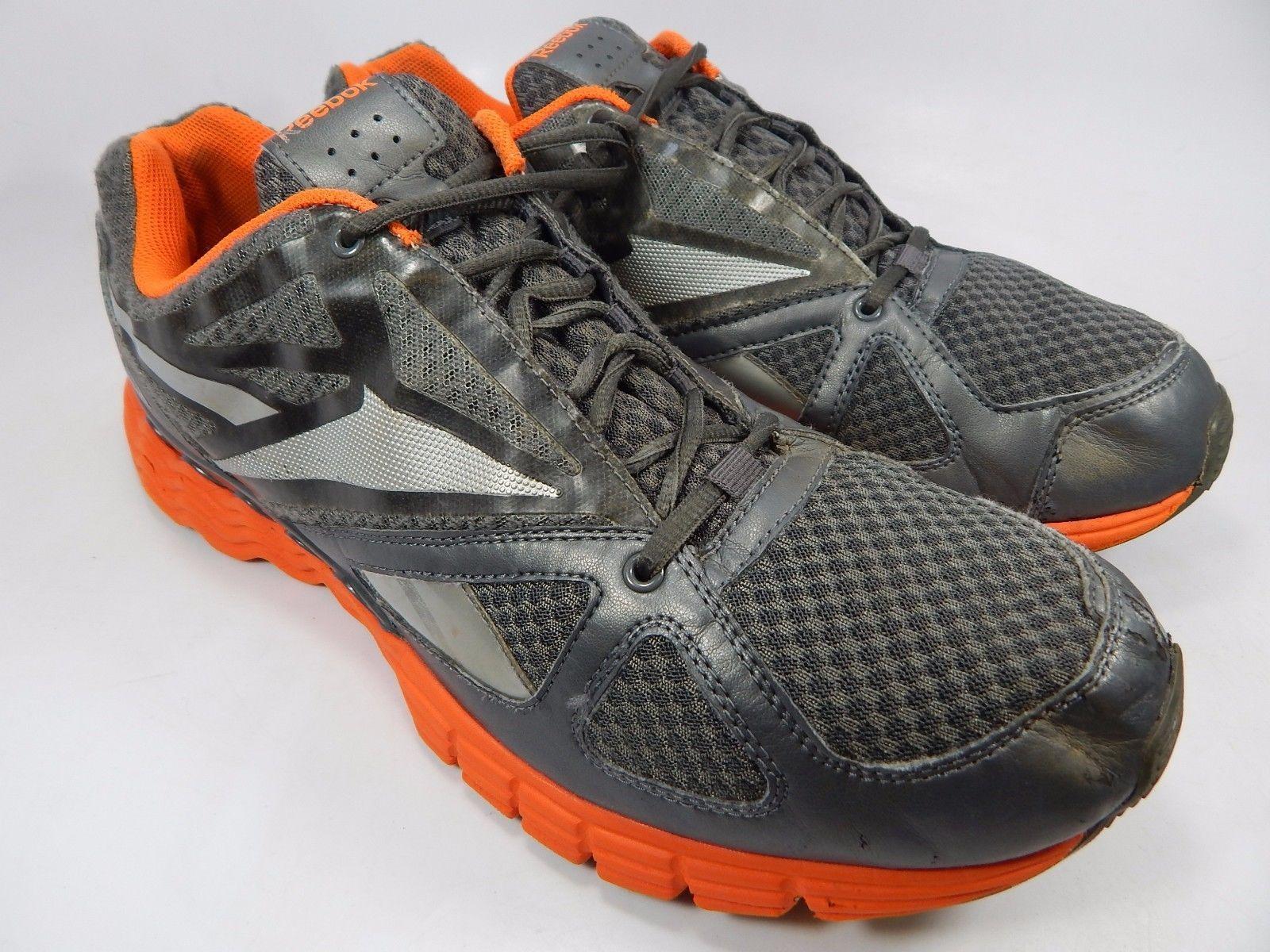 Reebok Realflex Men's Running Shoes Size US 13 M (D) EU 47 Gray Orange J83111