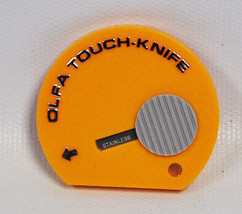 Olfa Retactable Touch Knife Yellow TK-4 - $6.25