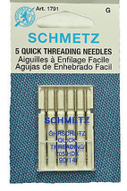 Sewing Machine Schmetz Quick Threading Needles 1791 - $8.50