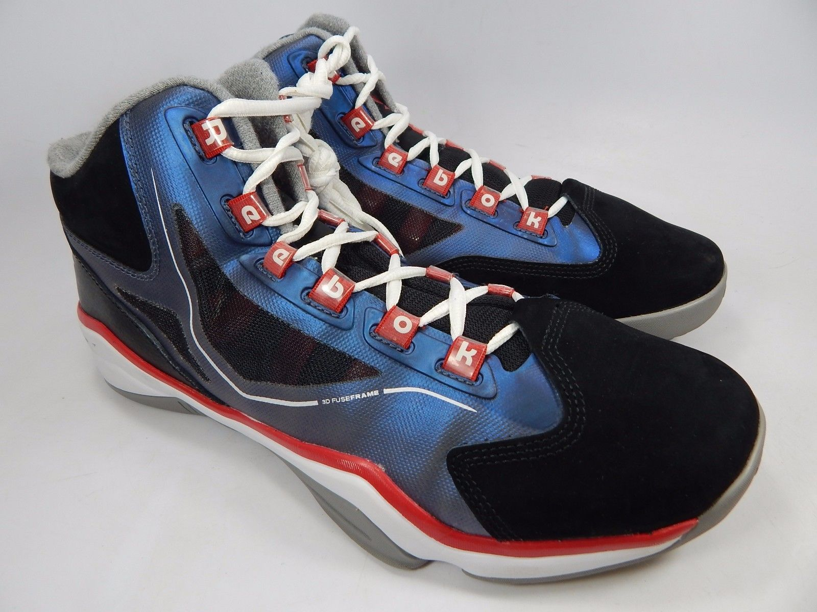 Reebok Q96 CrossExamine Men's Basketball Shoes Size US 11 M (D) EU 44.5 v61743