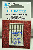 Schmetz Sewing Machine Leather Needle 1715 - $9.89 CAD