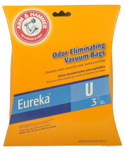 Eureka Type U Vacuum Cleaner Bags 62599A - $5.25