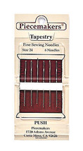 Piecemaker Tapestry Fine Sewing Needles Size 24 - $8.50