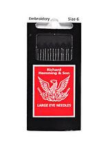 Richard Hemming Embroidery Needle Size 6 - $8.50