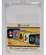 Lunch Box Quilts More Seasonal Celebrations Placemats - $48.25