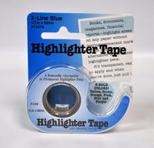Removable Highlighter Tape Blue - $13.75