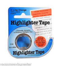 Removable Highlighter Tape 1/2in x 393in Orange - $13.75
