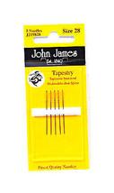 John James Tapestry Needles Size 28 - $8.50