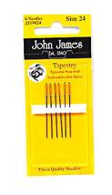 John James Tapestry Needles Size 24 - $8.50