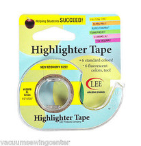 Removable Highlighter Tape 1/2in x 720in Fluorescent Green - $15.75