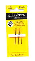 John James Tapestry Needles Size 26 - $8.50