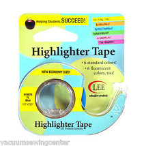 Removable Highlighter Tape 1/2in x 720in Fluorescent Blue - $15.75
