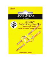 John James Embroidery Heavy Needles - $8.50