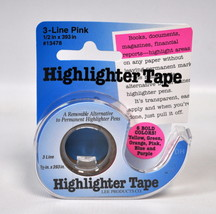 Removable Highlighter Tape Pink - $13.75