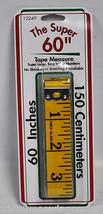 The Super 60 Inch Tape Measure Yellow Fiberglass 12249 - $20.95