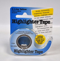 Removable Highlighter Tape Yellow  - $13.75