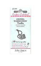 John James Crafters Collection Embroidery 18/22 - $8.50