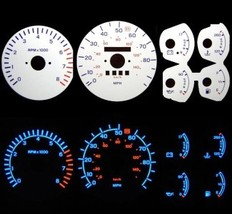 88 89 90 91 92 Ford Probe 2.2 LX White Face Glow Gauges - $15.99