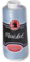 Maxi Lock All Purpose Thread Lucerne Blue 3000 YD Cone  MLT-033 - $7.50