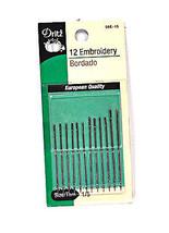 Dritz Embroidery Needles Sizes 1/5 - $8.50