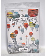 Hidden Cities Coloring Book - $8.50