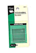 Dritz Embroidery Needles Size 8 - $8.50