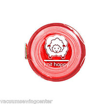 Knit Happy Tape Measure Red - $8.50
