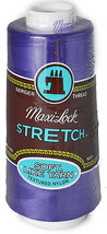 A&E Maxi Lock Stretch Textured Nylon Purple Serger Thread  MWN-43399 - $9.50