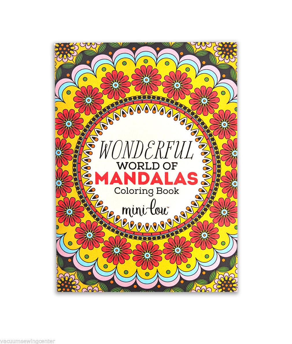 The Wonderful World of Mandalas Coloring Book - $6.25