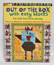 Out of the Box With Easy Blocks Sewing Book - $24.99