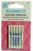 SCHMETZ Quilting Sewing Needles Size 90/14 1719 - $7.30