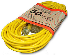 Generic Commercial 50 Feet 16/3 300 Volt Extension Cord - $55.75