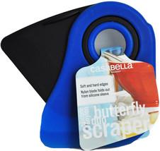 Casabella Silicone and Nylon Butterfly Duo Scraper Blue - ₨873.12 INR