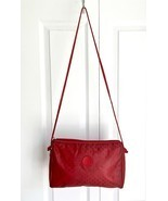 Vintage Red Monogrammed Fendi Crossbody Shoulde... - $176.72