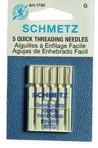 Sewing Machine Schmetz Quick Threading Needles ... - $8.35