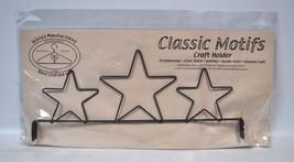 Classic Motifs 12 Inch 3 Star Header Craft Holder - $15.75
