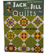 Jack and Jill Quilts for Boys and Girls, MC10755 - $26.25