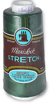 A&E Maxi Lock Stretch Textured Nylon Churchill Green Serger Thread  MWN-... - $8.98