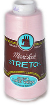 A&E Maxi Lock Stretch Textured Nylon Pink Serger Thread MWN-32039 - $9.44