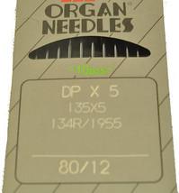 Pfaff Organ Sewing Machine Needle 134R-80 - $4.95