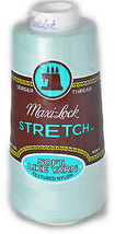 A&E Maxi Lock Stretch Textured Nylon Mint Green Serger Thread  MWN-32427 - $8.98