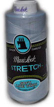 A&E Maxi Lock Stretch Textured Nylon Blue Mist Thread MWN-32049 - $9.44
