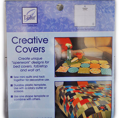 """Creative Covers Unique """"Openwork"""" Designs for Bed Covers, Tabletop and Wall Art"""
