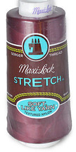 A&E Maxi Lock Stretch Textured Nylon Red Currant Serger Thread MWN-32131 - $9.44