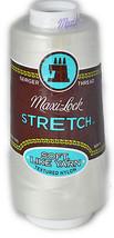 A&E Maxi Lock Stretch Textured Nylon Pearl Serger Thread  MWN-32601 - $8.98