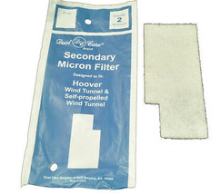 Hoover Windtunnel Upright Vacuum Cleaner Micron Filter - $3.95