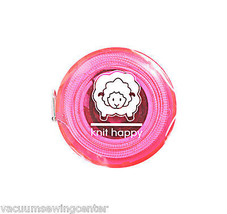 Knit Happy Tape Measure Pink - $8.50