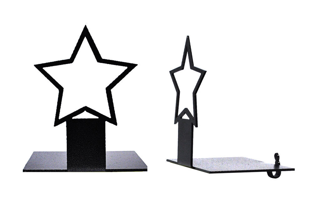 Ackfieldwire Star Stocking Holder